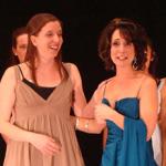 Tanya Stewart and Karen Davies Thomas