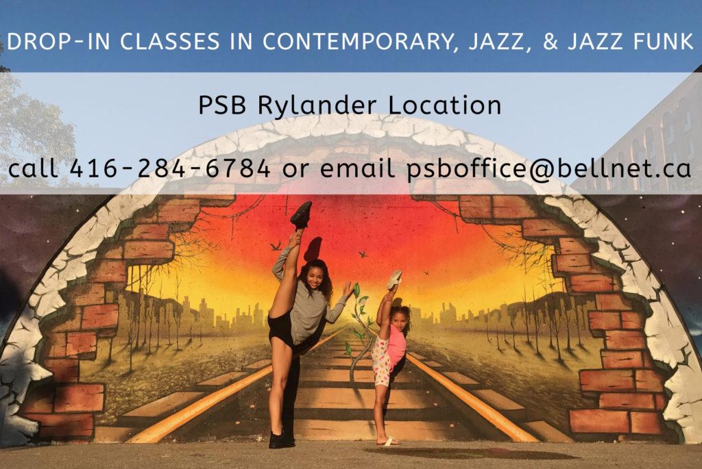 PSB Rylander Drop-in Classes