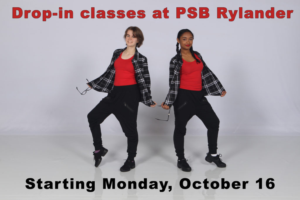 Drop-in classes at PSB Rylander