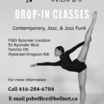 PSB & INTERPLAY Drop-in Classes
