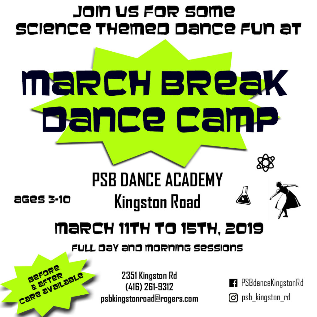 PSB2 March Break